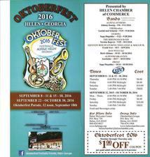 46th Annual Oktoberfest - start Sep 08 2016 0600PM