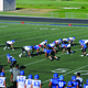 Bingham players square off in the annual blue and white game to begin the 2016 season. —Billy Swartzfager