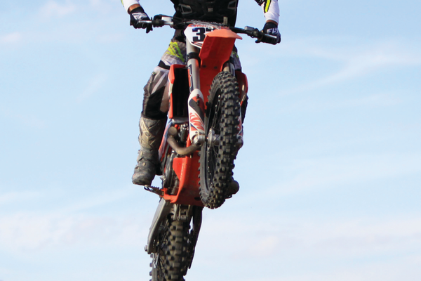 The beginner and expert racing classes will be the fastest competing at the West Jordan endurocross. — Scott Anderson