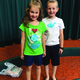 Lilly and Jack Miller enjoy a day at the Murray Library. -Alisha Soeken