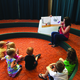Teresa Mcleod reads to eager children at the Murray Library. -Alisha Soeken