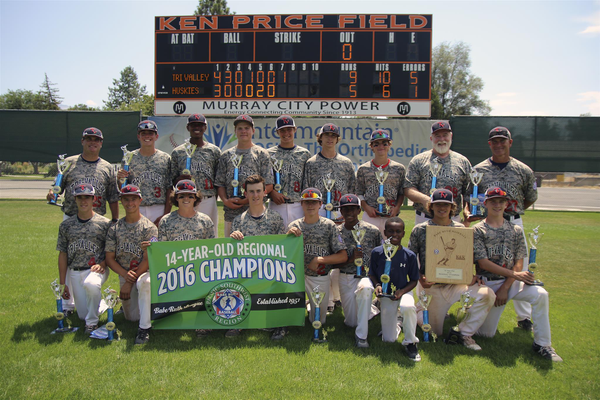 Tri-Valley, team out of Northern California, won the 2016 Pacific Southwest Regional Tournament, clinching a spot at the Babe Ruth World Series in Westfield, Mass. (Craig Lake/Murray)