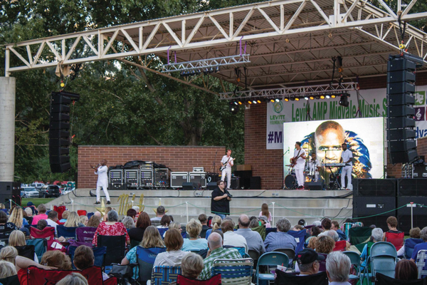 Alex Boye performed at the Midvale Harvest Days on Aug. 5. –Midvale Arts Council