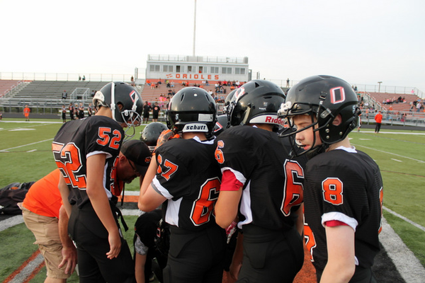 Osseo Football Association Showcase on Friday, Aug. 26 (Photo By: Doug Erlien)