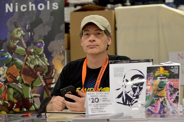 "Joe St. Pierre, an artist for ""Deadpool"" and ""Aquaman"" @ CSCC 2016"