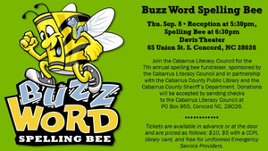 7th Annual Buzz Word Spelling Bee - start Sep 08 2016 0530PM