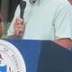 State Rep. Steve Barrar spoke at the event.