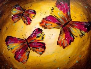 Medium dance of the butterflies large