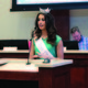 Sage Nielsen talks about her plans as the 2016–17 Miss Draper. (Kelly Cannon/City Journals)