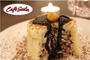 Cafe Siclias Individual Zucotto Desserts
