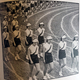 Photo of Murray High School's Posture Parade in 1941.  Barbara Andersen/resident
