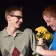 "Preston Rowland and Emmalee Petrick play Edward Bloom and Sandra Bloom in ""Big Fish""."