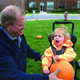 Jordan Valley students receive pumpkins each year from South Park Academy students, who grow the pumpkins and have their teachers deliver them to the school. Students, with the help of faculty, go to their pumpkin patch and pick the pumpkin they want. (Gay Smullen/Jordan Valley School)