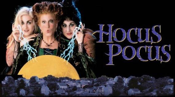 movie cover of hocus pocus