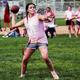 Riverton girls had a chance to flash their football skills in the Silverwolves powderpuff tournament. (Dave Sanderson/dsandersonpics.com)
