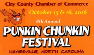 8th Annual Punkin Chunkin Festival - start Oct 15 2016 1000AM