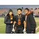 Osseo Senior High Orioles Football Senior Night 2016 Oct. 21. (Photo by Wendy Erlien)
