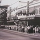 A crowd lines up for a showing at one of Oxfords three movie theaters