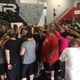 """Every Saturday morning bootcamp is closed out with a traditional group breakdown and inspirational words from founder Ian Acker. """"What makes FTR so unique is the amazing group of people we have here,"""" Acker said. """"They give others hope."""" (City Journals)"""