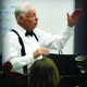 """Maestro Jack Aston gives instructions to the orchestra prior to """"Highlights of the Messiah"""" performance. (Dave Robertson/Holladay Community Messiah Foundation)"""
