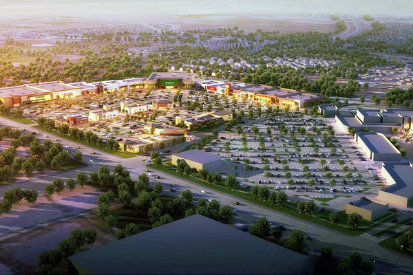 An image of what Riverton's Mountain View Village may look like at completion. (CenterCal Properties, LLC)