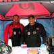 South Jordan firefighters smile for a picture at the Fourth Annual Utah Firefighter Chili Cook-off. (Keri Jones/UDK)
