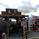 """Fire Departments from across the state competed in a chili cook-off on Sept. 24. American Fork Fire Department won """"best booth"""" for their saloon-style stand. (Tori La Rue/City Journals)"""