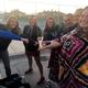 The Herriman High School tennis team: Megan Swapp, Courtney Davis, Aly O'Rourke, Paige Duckworth, Kaylee Jensen, Maddie Walker and Megan Quinn. (Linda Richmond/Herriman tennis)