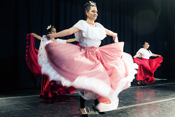 The American Venezuelan Association of Utah performed a traditional Venezuelan dance at Molina Healthcare's ninth annual Community Champions Awards. (Kristen Jacobsen/Kristen Jacobsen Photography)