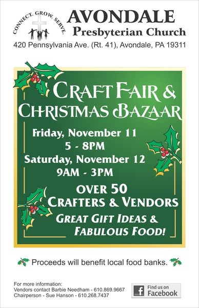 Avondale Presbyterian Church Craft Fair