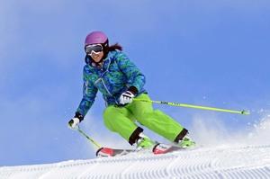 Medium jballard carving 20turn  20free skiing  20lisa