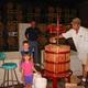 Pressing crew Chardonnay 2001, Logan, Mackenzie, Norman, and Bret Engelman (Three generations of Engelman's)