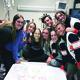 Peers visit Ashtyn Poulsen in the hospital. (Ashtyn's Army)