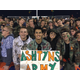 Brighton students wear camouflage at a football game in support. (Ashtyn's Army)