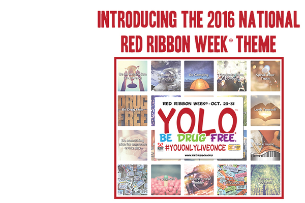 National Red Ribbon slogan for 2016. (Red Ribbon website)