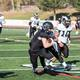 An Alta player rushes for a gain against Highland in this year's playoffs. (Alta High School Football)