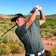 Bingham junior golfer Ethan Fowlks earlier in the season (Kristen Fowlks/Resident)