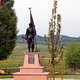 """Sculptor Dan Snarr's bronze memorial """"Proud"""" stands at a park in Garden City, Utah. Snarr is fundraising to bring a second cast of the same statue to West Jordan. (Dan Snarr)"""