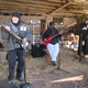 The band played its second public show on Dec 10 at Chenoa Farm in Avondale Photo by John Chambless