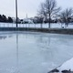 Donahue North Park hockey rink photo by Wendy Erlien