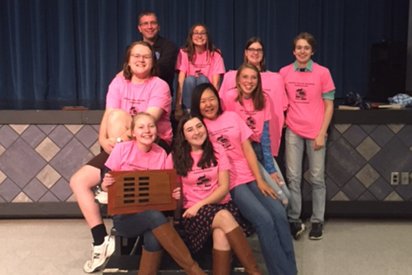 Seneca Valley's Reading Teams Takes Top Three Spots at Competition