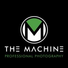 Medium machine wht logo on blk box