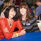 Lori Wilson with Rolling Hills Blue Star Moms Chapter President Robin DeCristofaro
