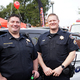 Folsom Police Department Lt. Eric Heichlinger and Sgt. Andrew Bates
