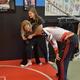 Ty coaches Natalia and Dana Seffs