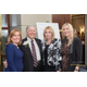 Corporate Philanthropist of the Year Raymond Streib, founder of Development Facilitators, Inc., Michele Wedemeyer, Phyllis Streib, and Lisa Martel