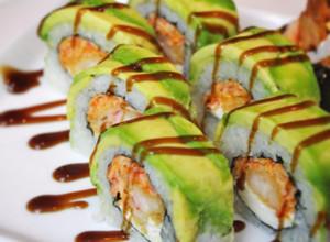 Medium sushi rolls
