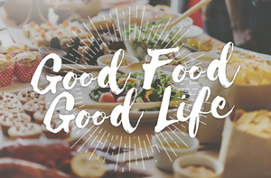 Medium good food good life gourmet