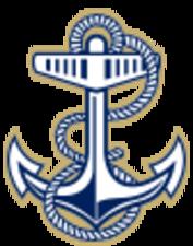 Medium navy 15 mast anchor
