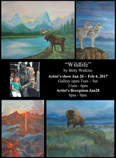 Wildlife by Betty Watkins  - start Jan 26 2017 1100AM